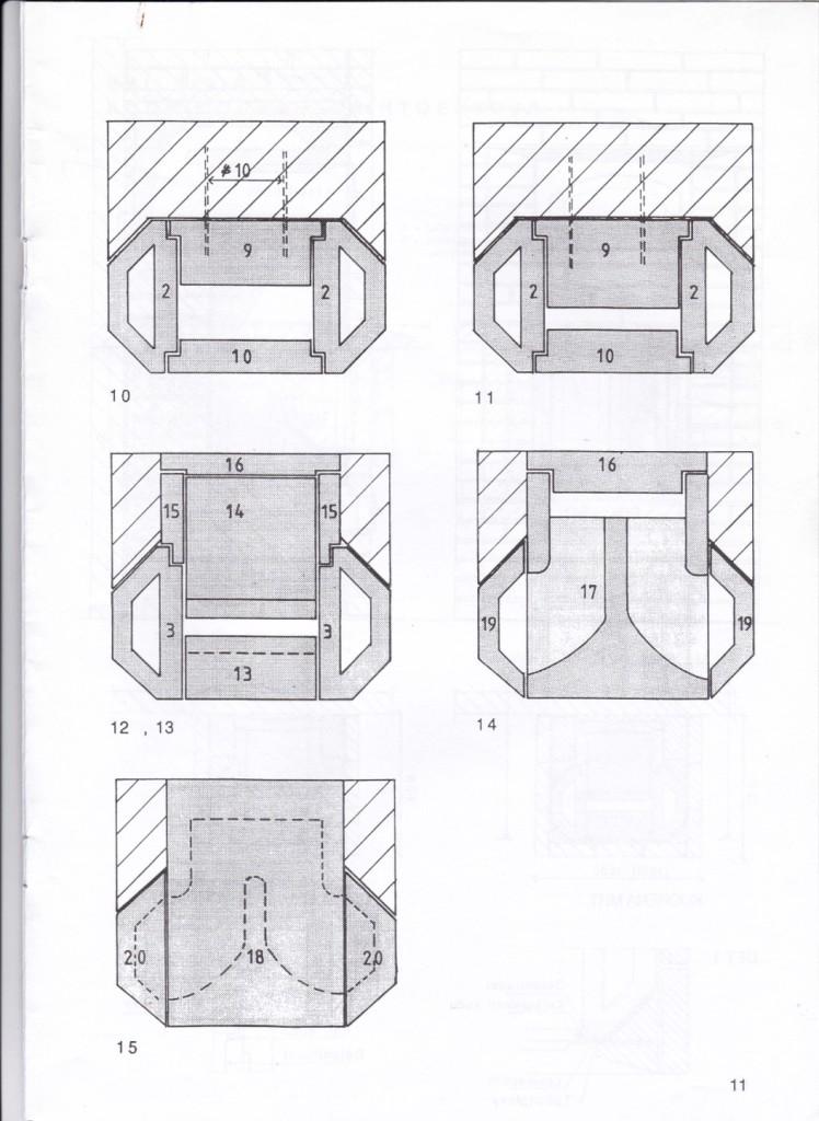 Uppbyggning, skifte 10 – 18